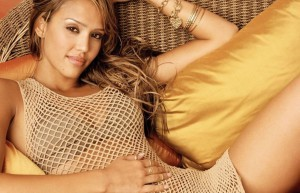 blonde Jessica Alba picture