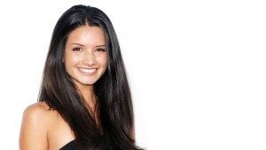 Awesome cool smile of Alice Greczyn pictures