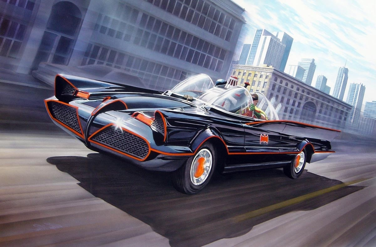 Batmobile Hd Wallpapers Free Download