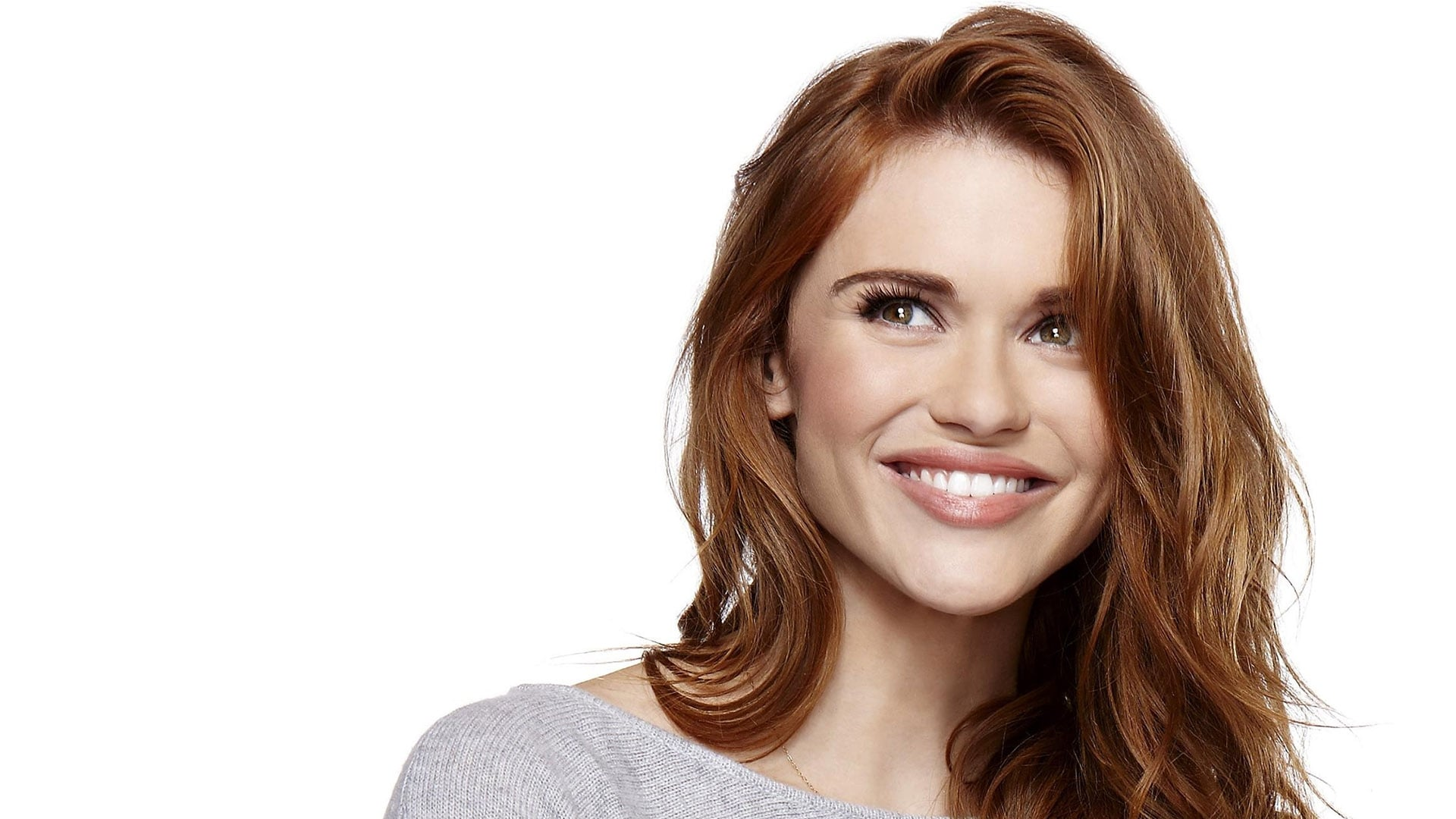 smile Holland Roden widescreen wallpaper