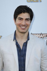 Smiling Brandon Routh wallpaper for iPhone