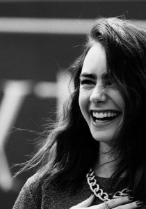 Lily Collins funny for mobiles