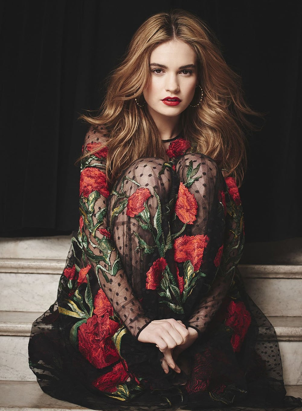 Lily James for Android