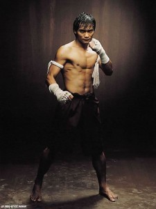 Tony Jaa warrior HD image for mobiles