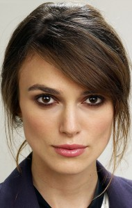 Awesome face Keira Knightley makeup photo