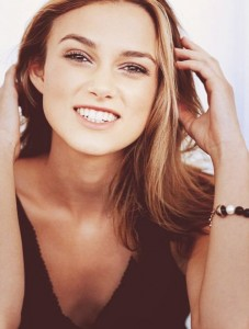 smile Keira Knightley