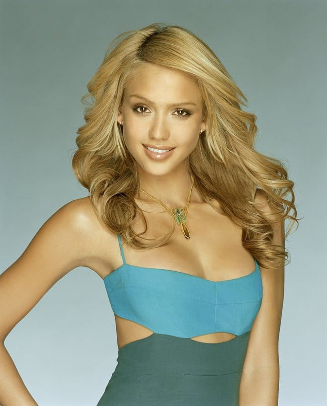 white Jessica Alba wallpapers
