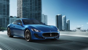 2014 Maserati Granturismo blue wallpapers