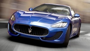 2015 Maserati Granturismo motion 1080p wallpaper