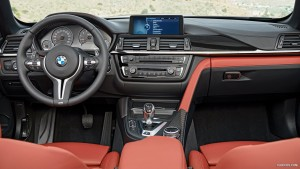 Full HD 2016 BMW M4 Convertible interior image