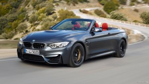Wallpaper of 2016 BMW M4 Convertible motion for desktop