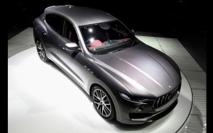 Awesome 2016 Maserati Levante pictures