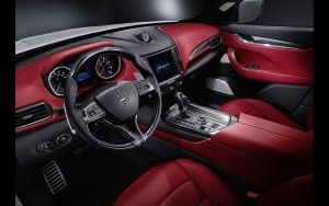 2016 Maserati Levante interior HD wallpapers
