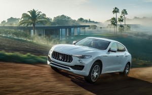 Cool 2016 Maserati Levante white HD pic for PC