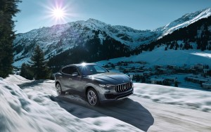 2016 Maserati Levante winter walpapers for windows