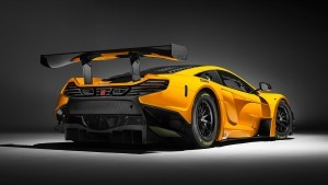 2016 McLaren 650S GT3 rear bumper HD wallpapers