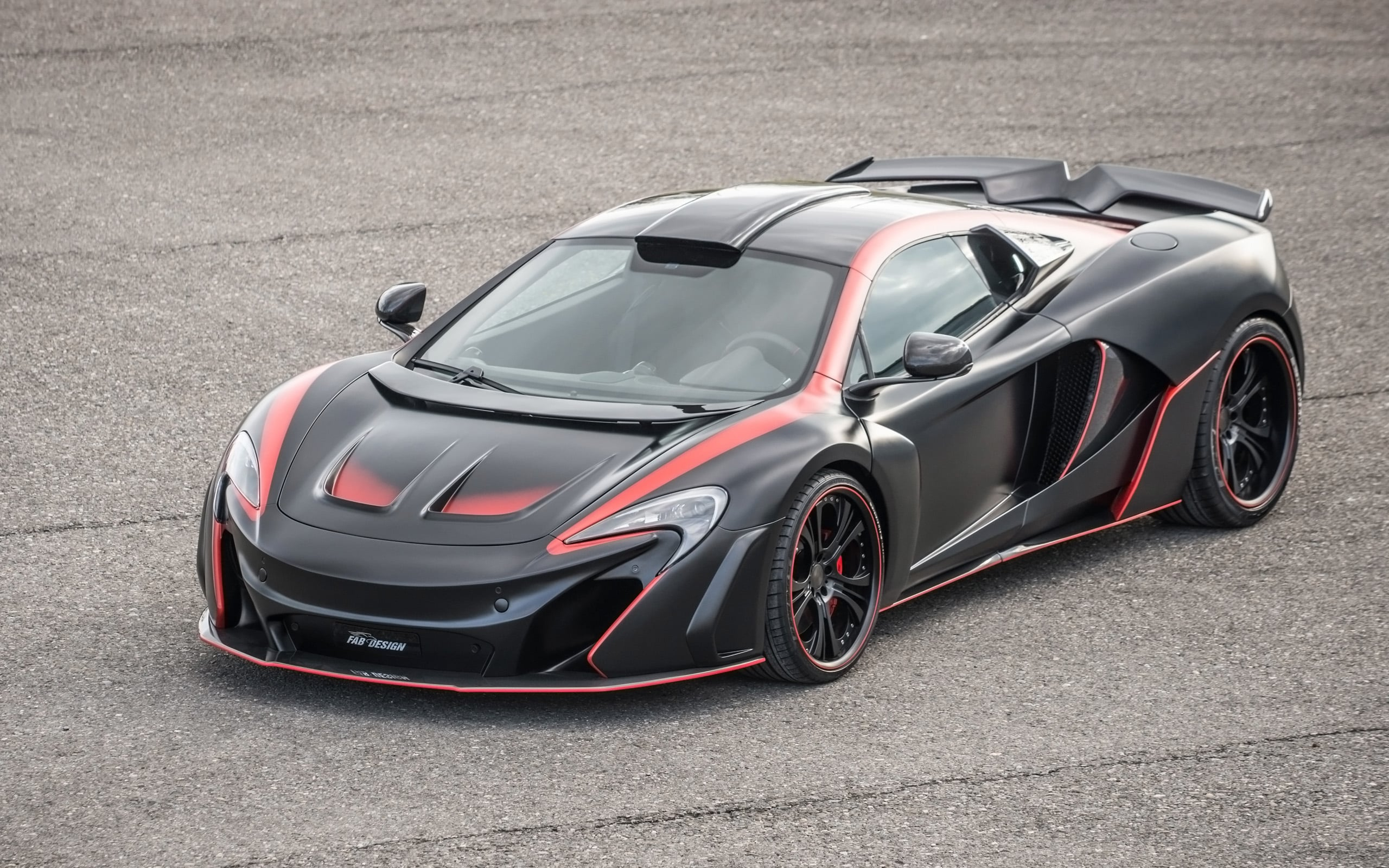 2016 McLaren-650S GTR HD backgrounds