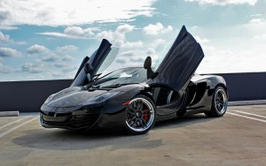 Amazing 2016 McLaren mp4-12c black picture