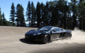2016 McLaren mp4-12c black motion wallpapers