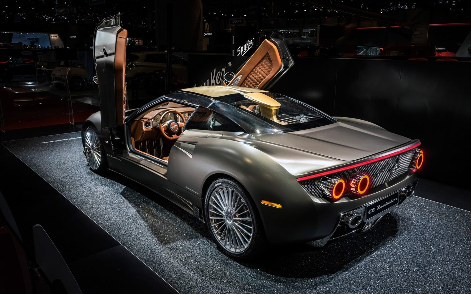 Bmw I8 Wheels >> 2016 Spyker C8 Preliator HD wallpapers, pictures