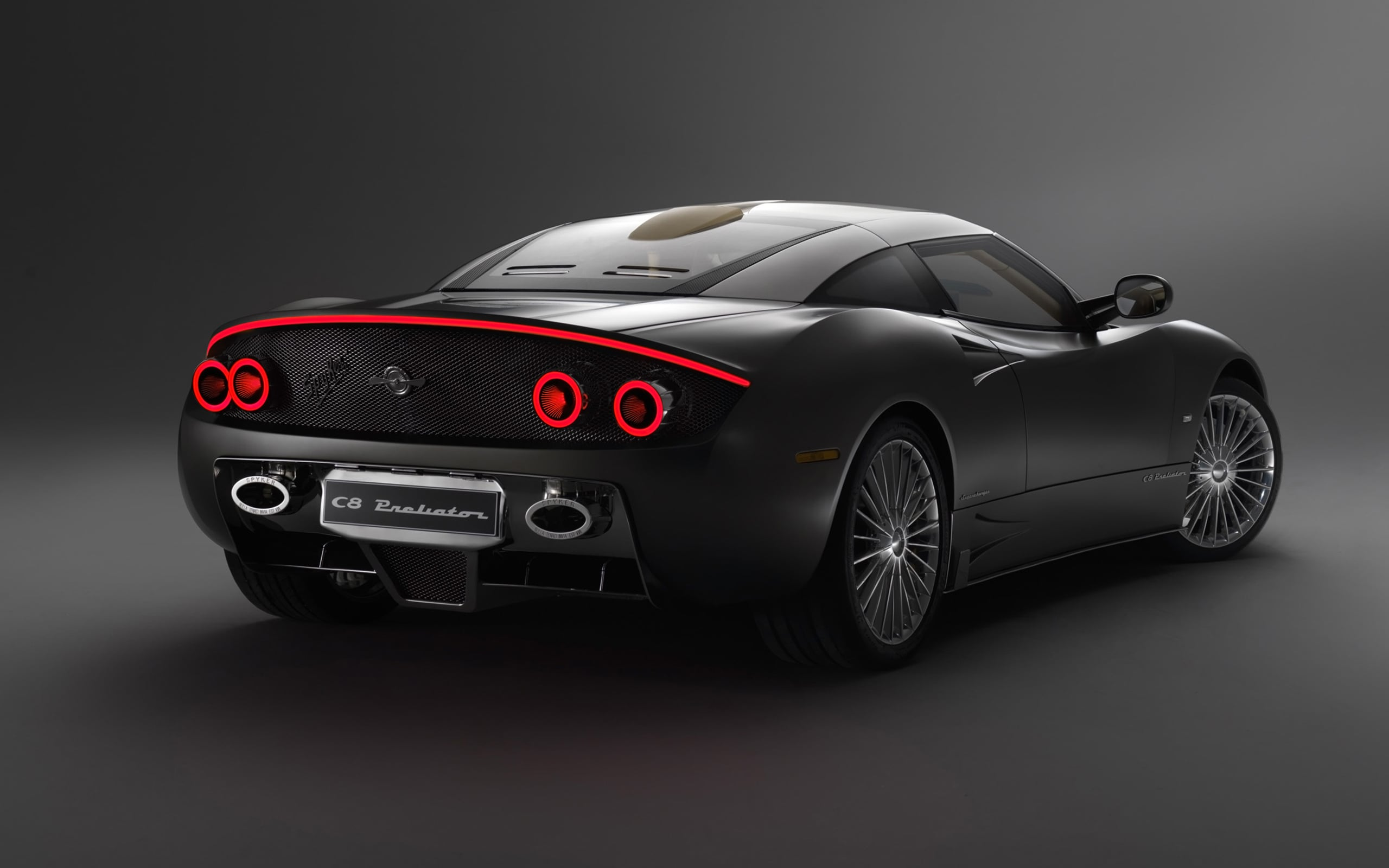 2016 Spyker C8 Preliator rear bumper High Resolution wallpaper