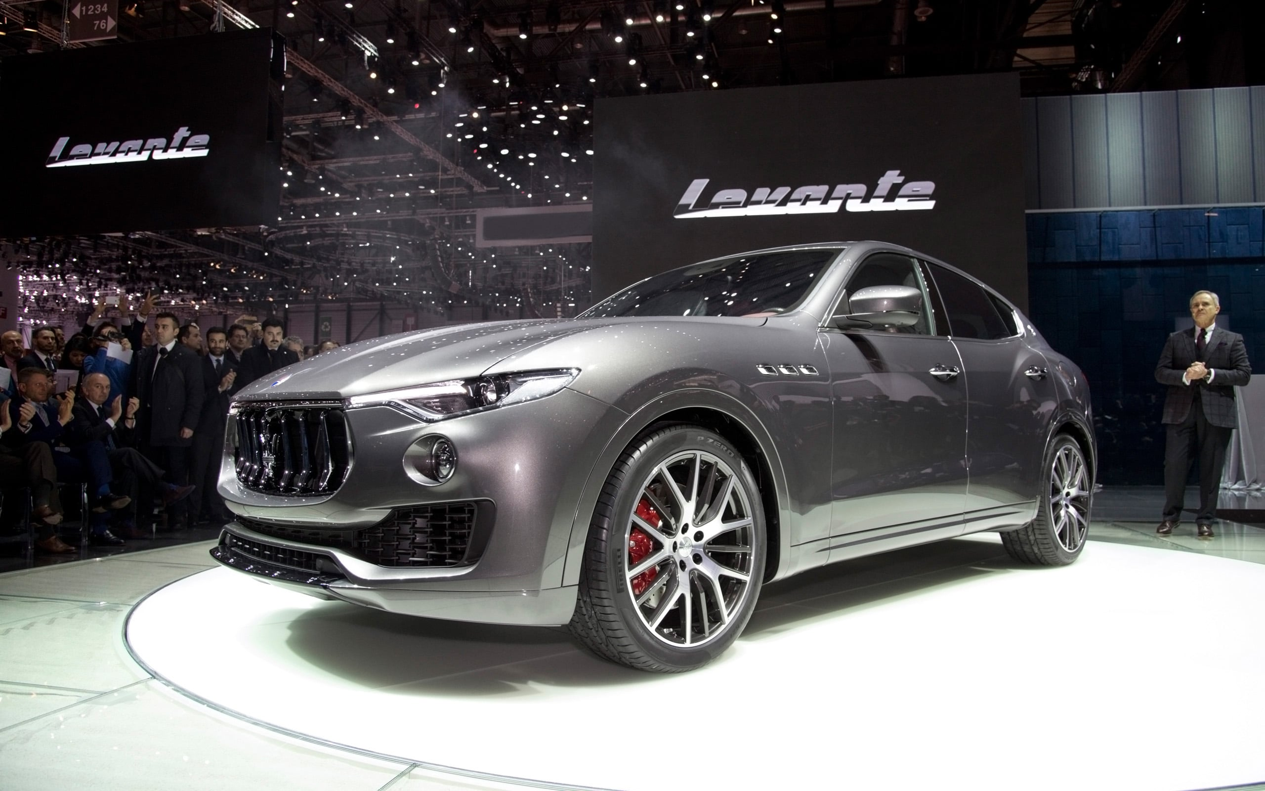 2016 Maserati Levante wallpapers