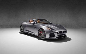2017 Jaguar F Type SVR Convertible grey HD wallpapers