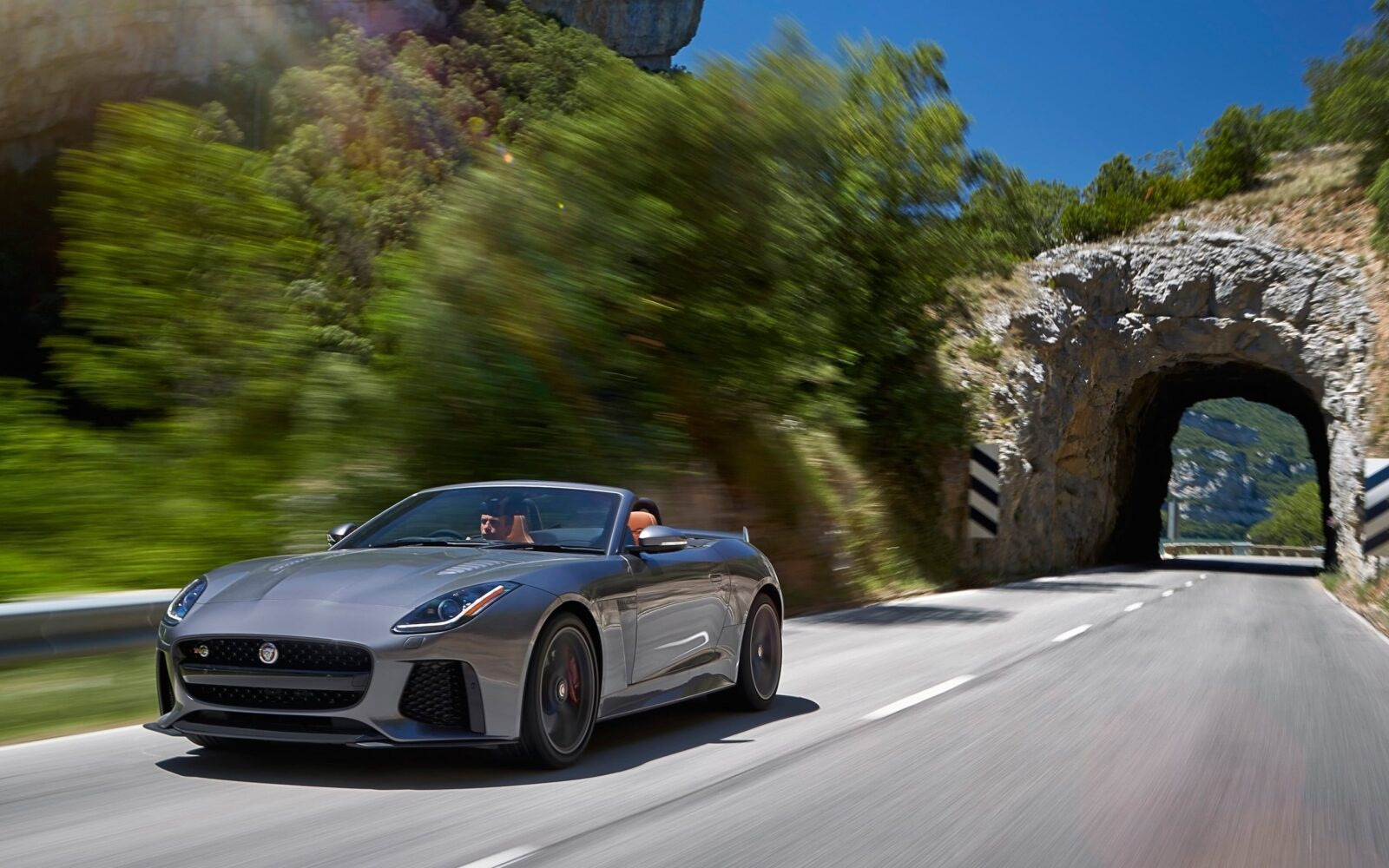 2017 Jaguar F Type SVR Convertible High Quality wallpapers