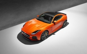 2017 Jaguar F Type SVR Coupe full HD image