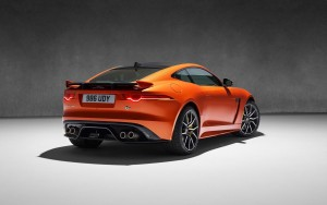 Cool 2017 Jaguar F Type SVR Coupe HD pic for PC