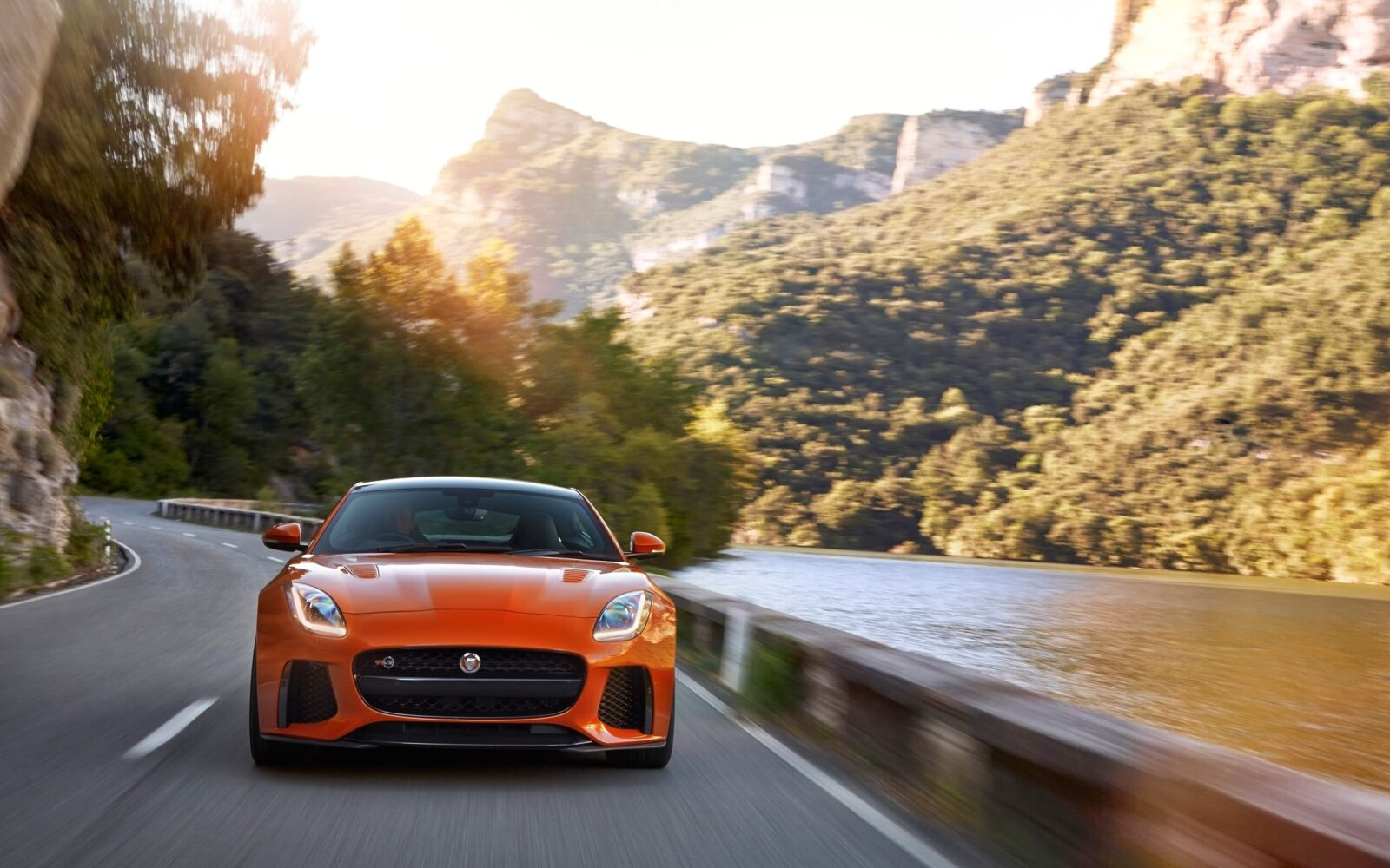 F Type Coupe >> 2017 Jaguar F Type SVR Coupe HD wallpapers