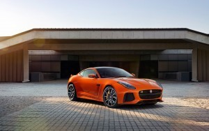 2017 Jaguar F Type SVR Coupe High Resolution