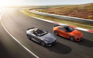 2017 Jaguar F Type SVR Coupe and Jaguar F Type Convertible