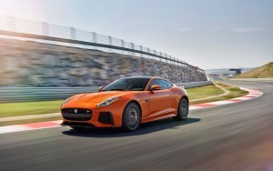 HD 2017 Jaguar F Type SVR Coupe race