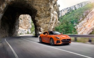 2017 Jaguar F Type SVR Coupe red Desktop HD