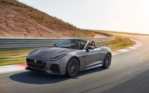 2017 Jaguar F Type SVR cabrio wallpapers