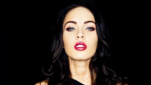 Megan Fox black background