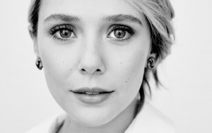Elizabeth Olsen bw new wallpaper