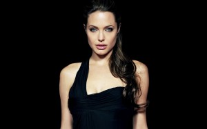 Angelina Jolie black background HD pics