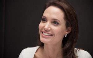 Angelina Jolie wallpapers HD smile