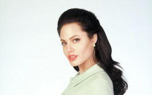 Angelina Jolie pictures white