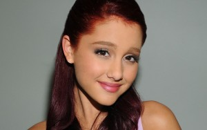 Ariana Grande cute face Desktop Wallpaper Widescreen