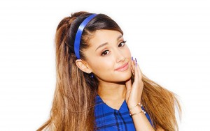 Ariana Grande cute white background High Resolution wallpaper