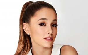 Ariana Grande eyes white background HD wallpapers