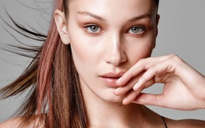Bella Hadid face wallpaper for desktop