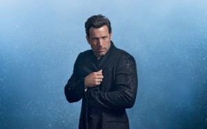 Wallpaper Ben Affleck blue background 1080p photo High Resolution for Desktop