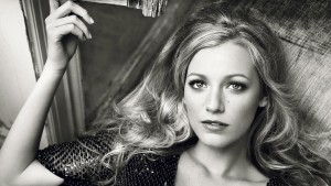 HD Blake Lively bw images