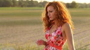 Blake Lively red hair widescreen
