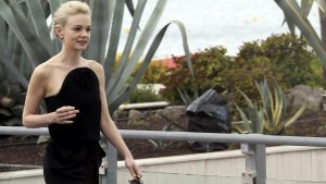 Carey Mulligan black dress full HD image