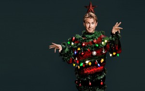 wallpaper Chris Hemsworth christmas tree new year picture HD